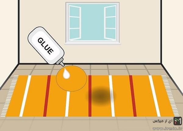 رفع سوختگی فرش