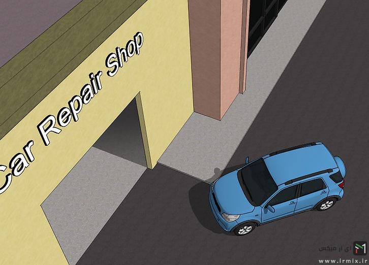 ترمیم رنگ پریدگی خودرو