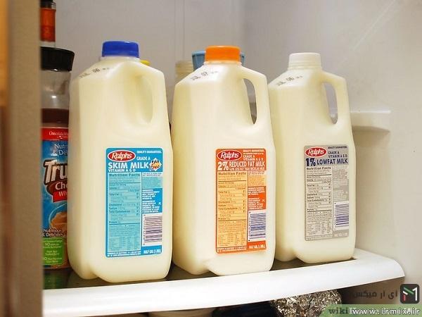 مطمئن شدن از مدت زمان قرار گرفتن شیر در دمای اتاق