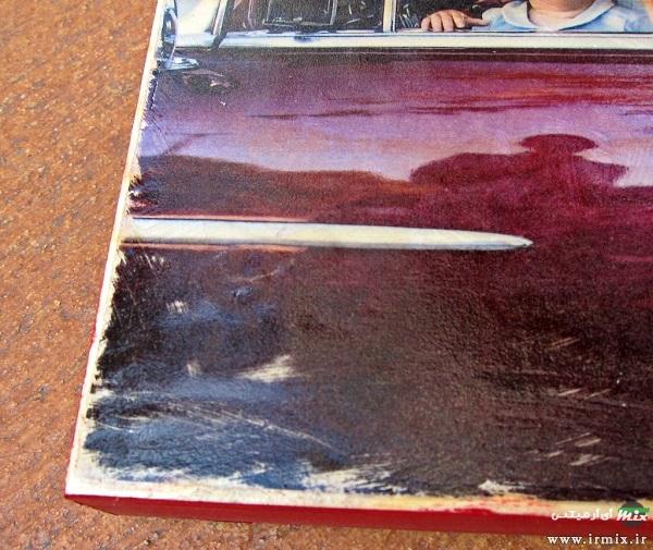چسباندن عکس روی تخته شاستی