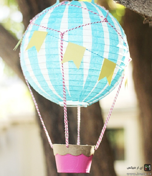 بالون های کاغذی برای تولد