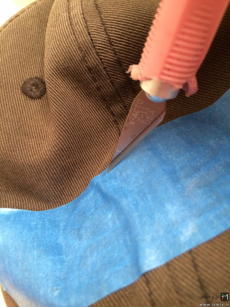 رنگ کردن کلاه کپ