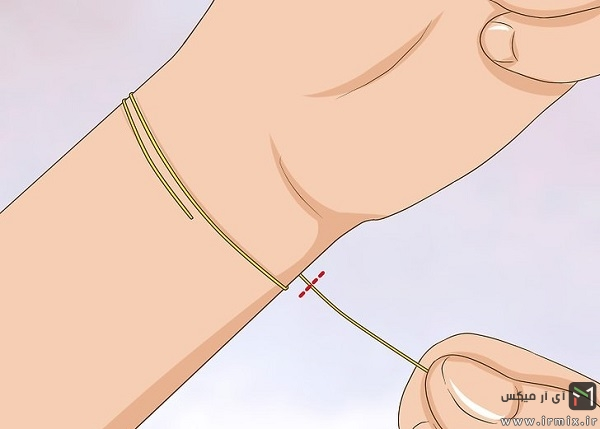 اموزش ساخت دستبند مهره ای