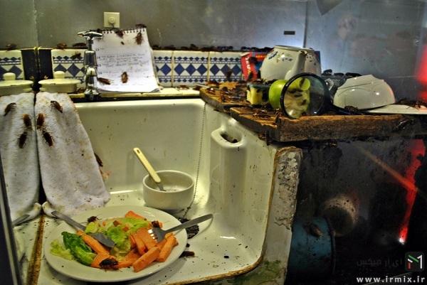 آشپزخانه کثیف