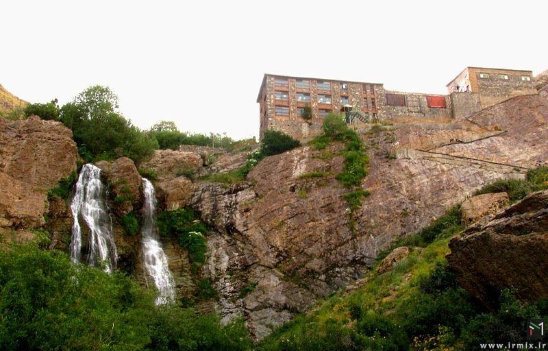 تصاویر زیبا و کمتر دیده شده از آبشار دوقلو در تهران