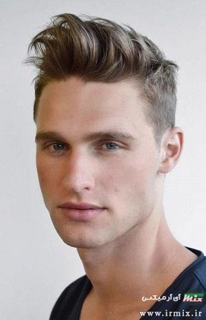 مدل مو های کوتاه مردانه برای پیشانی بلند