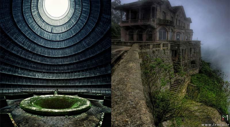 زندگی بعد از انسان چگونه است؟ تصاویری از ۲۰ محل مرموز،متروکه و عجیب زمین