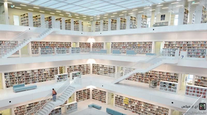 تصاویری از ۲۸ کتابخانه برتر و شگفت انگیز جهان