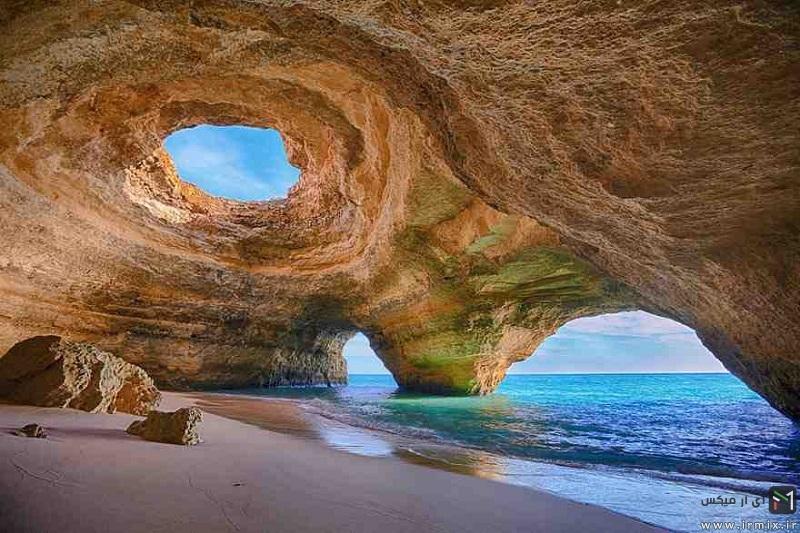 تصاویری از ۱۵ غار اعجاب انگیز دنیا !