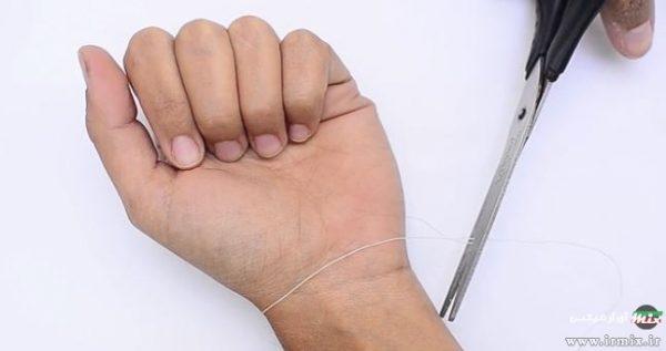 ساخت دستبند با لوازم ساده