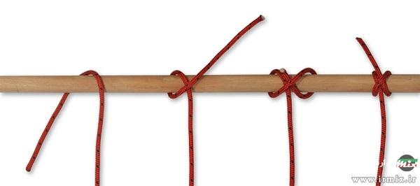 آموزش گره زدن طناب برای بکسل ماشین