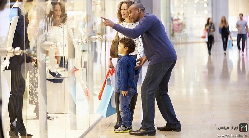 آموزش طراحی ویترین جلوی انواع مغازه کوچک و بزرگ