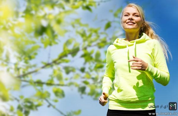 جلوگیری از لاغری صورت در ورزش