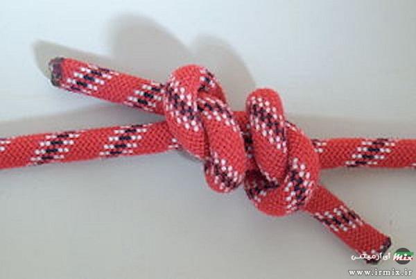 روش گره زدن طناب