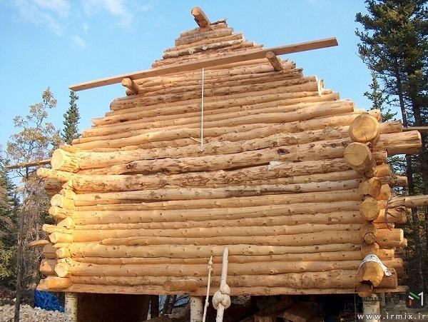 ساخت کلبه در جنگل