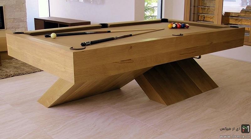 آموزش تصویری مراحل ساخت میز بیلیارد دست ساز خانگی با ام دی اف
