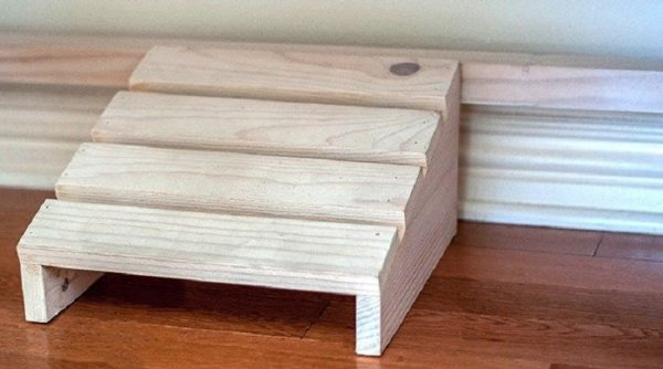 How To Build Footrest using Scrap Wood
