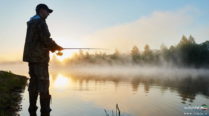 آموزش تصویری ماهیگیری با قلاب و لنسر در رودخانه ، دریا و سد