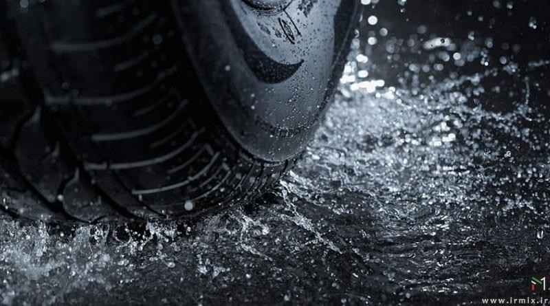 کاملترین آموزش اصول و تکنیک های رانندگی در باران شدید