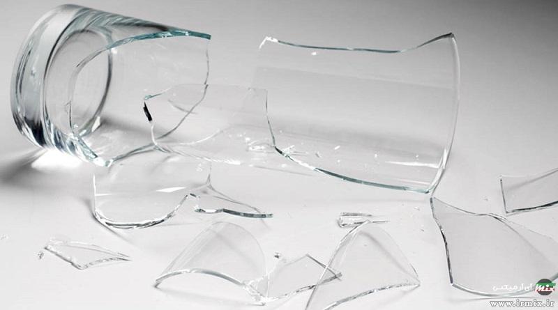 آموزش تصویری نحوه تعمیر ظروف شکسته شیشه ای