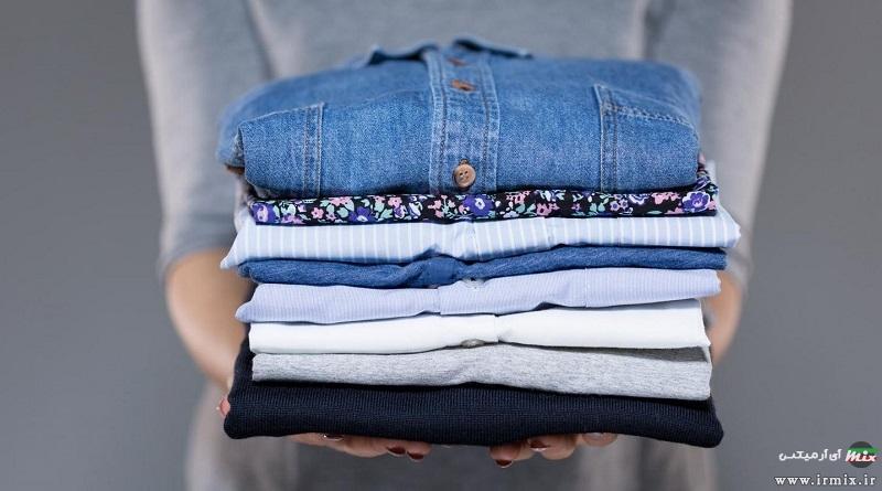 آموزش تصویری طرز درست و ساده تا زدن پیراهن ، شلوار و دامن زنانه