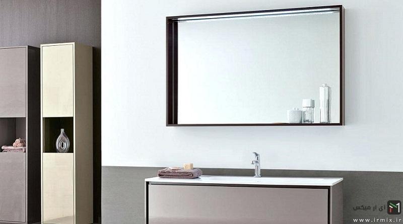 آموزش تصویری نحوه نصب آینه قدی و بدون قاب بر روی دیوار