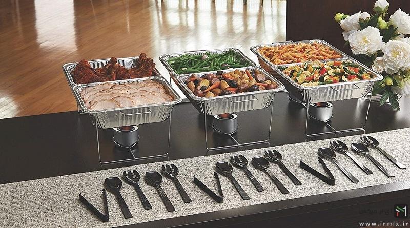آموزش بهترین روش های گرم نگه داشتن غذا برای مهمانی