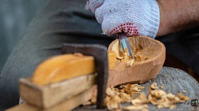 کاردستی حرکتی با چوب