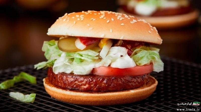 آموزش طرز تهیه گوشت مخصوص برای همبرگر مک دونالد اصل به روش خانگی