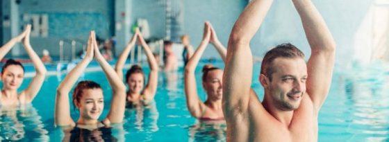 حرکات آب درمانی برای آرتروز زانو، دیسک کمر، زانو درد و ...
