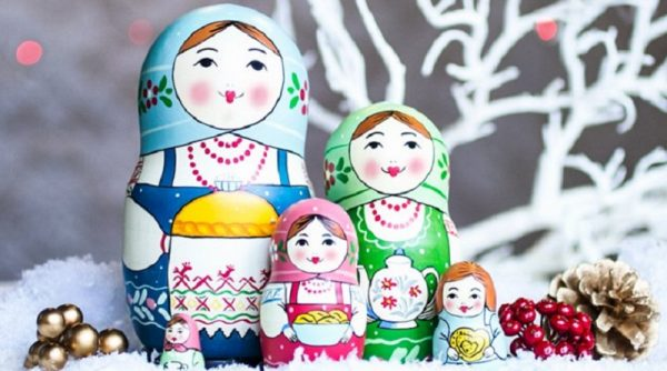 Making nesting dolls at home