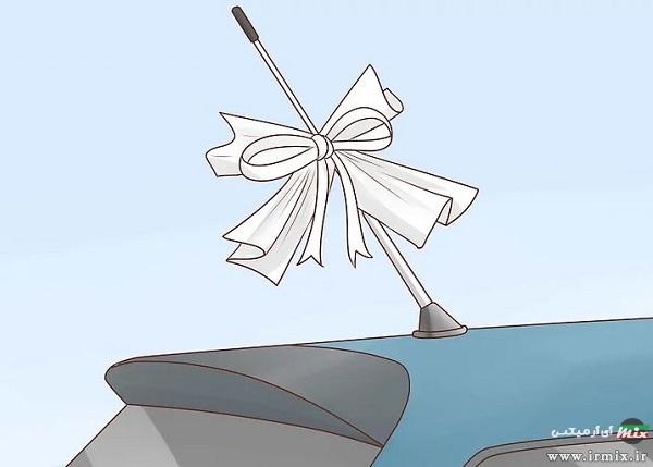 وسایل لازم برای تزیین ماشین عروس