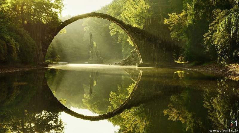 اوج زیبایی و آرامش : زیباترین پل های دست ساز جهان در دل طبیعت