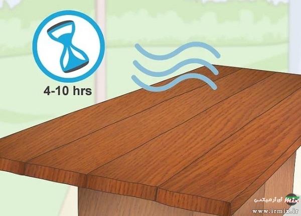 محلول ضد آب کننده چوب