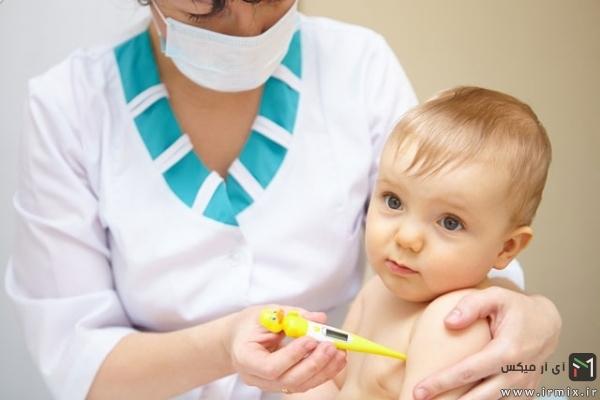 تب در سرماخوردگی نوزادان