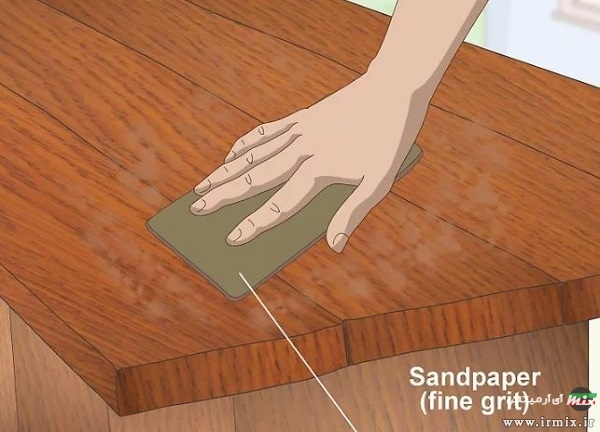 رنگ ضد آب درب چوبی