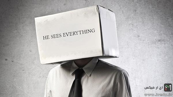 جعبه روی سر