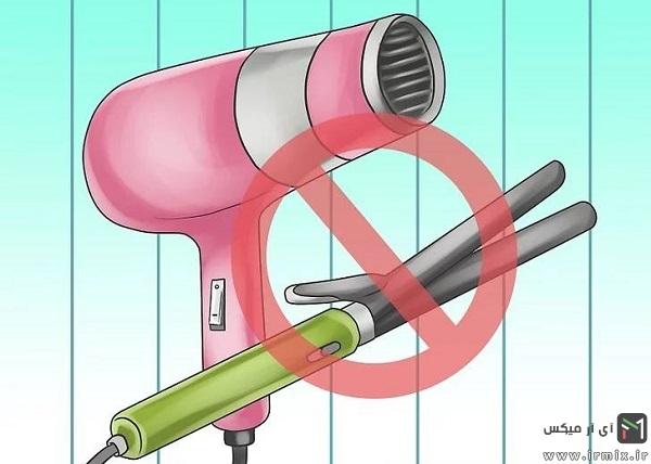 کنترل های لازم برای صاف کردن مو