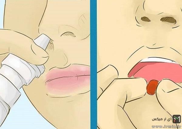 رفع گرفتگی یا احتقان بینی
