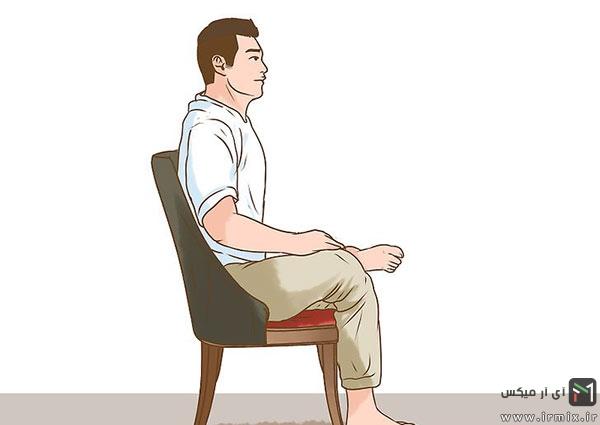 کشش عضلات پا