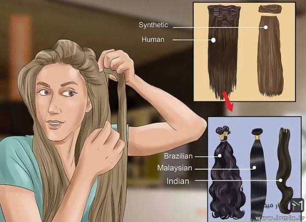انواع مو برزیلی، مالزیایی و هندی
