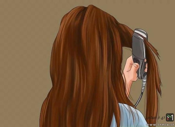 مجددا استفاده از اتوی مو