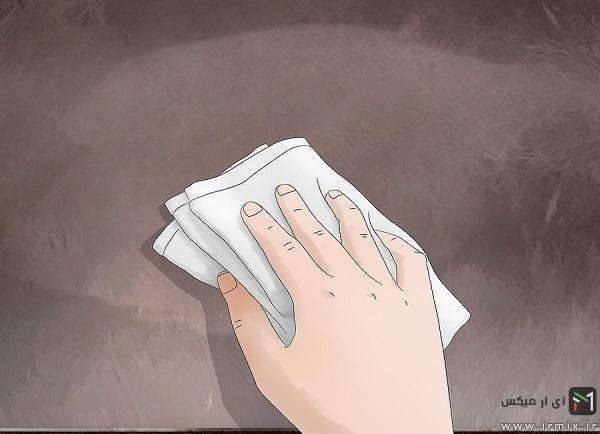 روش تمیز کردن مبل چرم مصنوعی