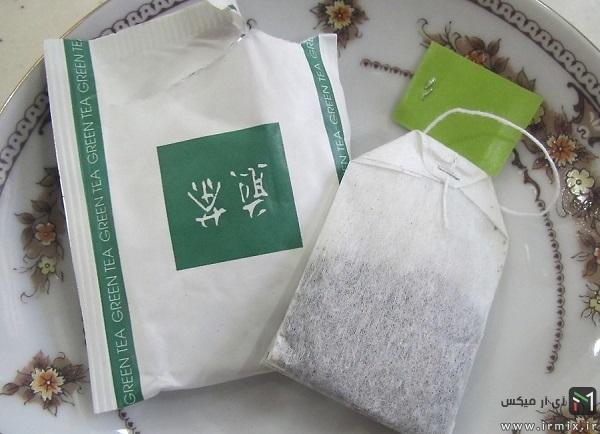 دم کردن چای سبز