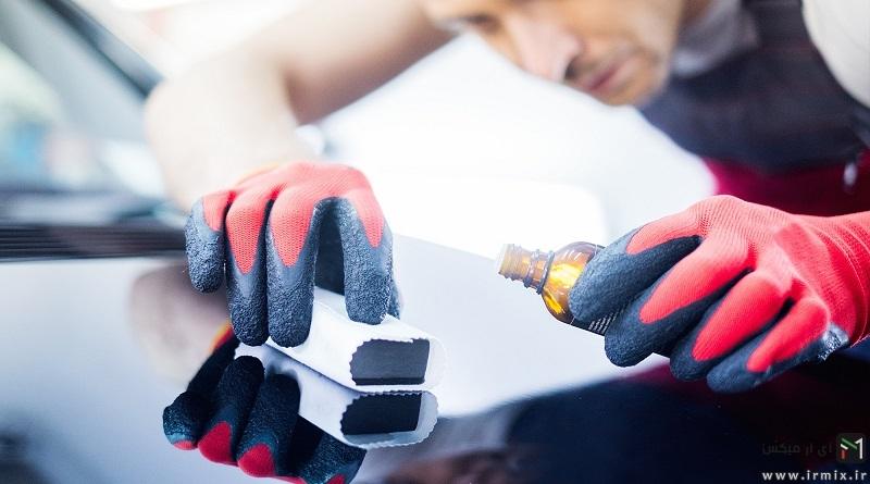 آموزش کامل ترمیم رنگ پریدگی خودرو و لکه گیری رنگ ماشین در خانه