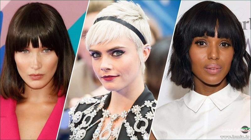 شش عدد از جدید ترین و بهترین مدل مو برای موهای کم پشت زنانه