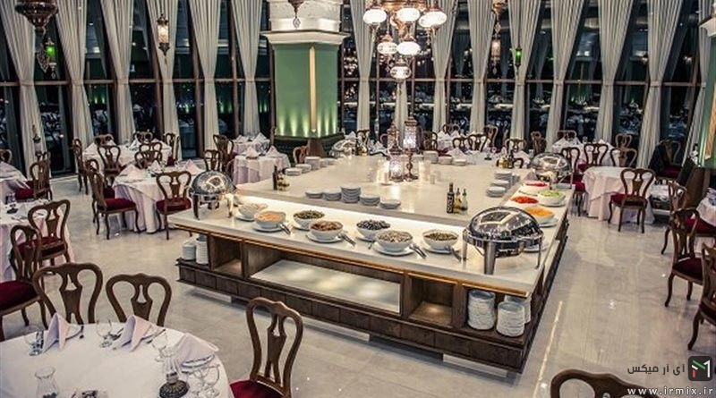 با شیک ترین و بهترین رستوران های ایران آشنا شوید + تصاویر
