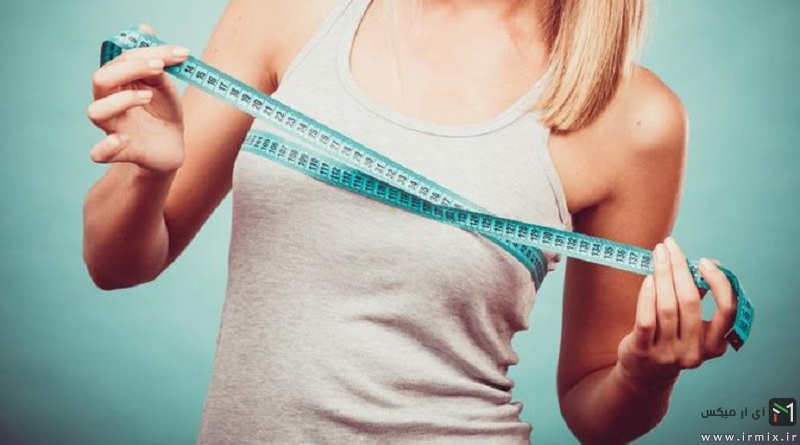 آموزش راه های آب کردن چربی سینه در زنان با ورزش و رژیم غذایی