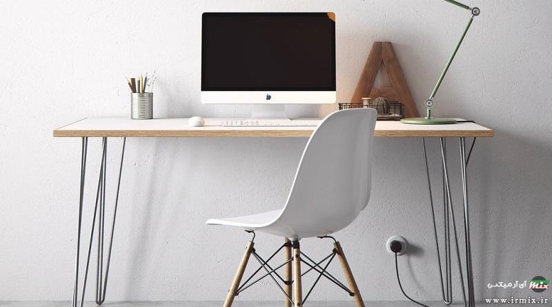 آموزش تصویری ساخت میز تحریر ساده با چوب ام دی اف در خانه