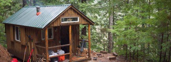آموزش ساخت کلبه در جنگل و بررسی مراحل ساخت کلبه چوبی در باغ، جنگل و ..